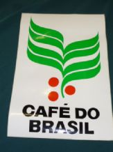 CAFE DO BRASIL unused original from FITTIPALDI F1 car circa 1982